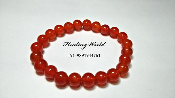 Energized Red Carnelian bracelet
