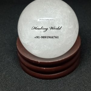 Energized Sphatic/ Clear Quartz Ball (Size 2.5 inch, weight 200 gm to 300 gm approx)
